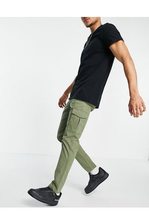 JACK & JONES Premium skinny stretch cargo pants in khaki