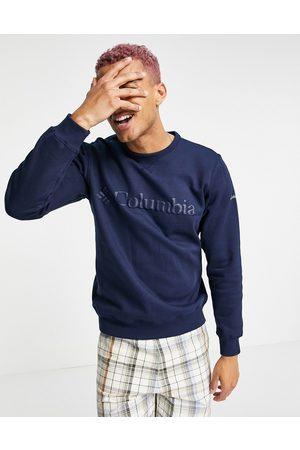 Columbia Logo sweatshirt in navy
