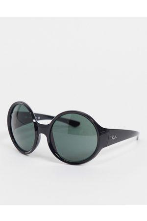 Ray-Ban Women's oversized round sunglasses in