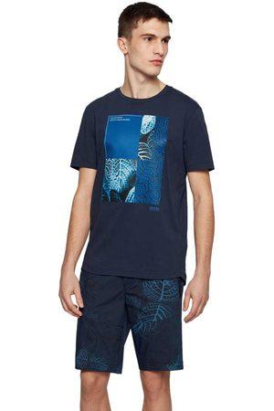 HUGO BOSS Tee 9 Short Sleeve T-shirt L Navy