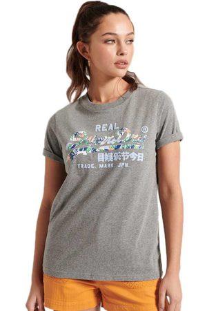 Superdry Vintage Logo Infill Short Sleeve T-shirt S Dark Marl