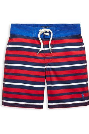 Ralph Lauren Little Boy's & Boy's Striped Swim Trunks - Multi - Size 6