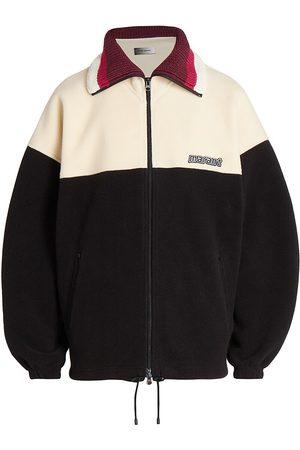 Isabel Marant Men's Colorblocked Zip-Up Sweater - Size XL