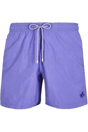 Vilebrequin Men's Embroidered Octopus Swim Trunks - Madras - Size Small