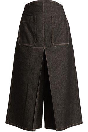 Anna Mason Women's Gemma Denim Culottes - Denim - Size 4