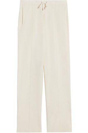 Sandro Women's Malibu Straight-Cut Knit Jogging Pants - - Size 10