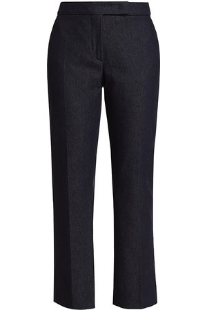 Max Mara Women's Giglio Straight Trousers - Ultramarine - Size 10