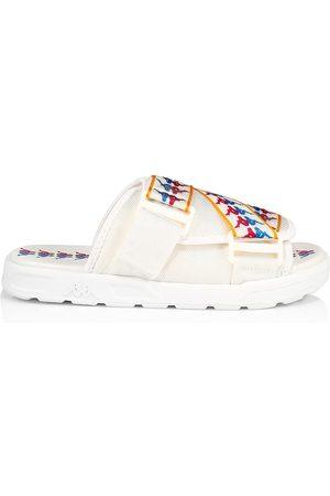 Kappa Men's Banda Mitel Logo Web Slide Sandals - Fuchsia - Size 13