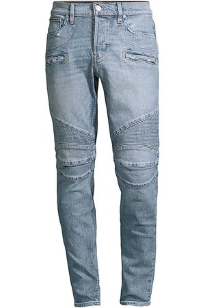 Hudson Men's Zack Skinny Scraped Paint Jeans - Campus - Size 32