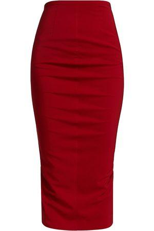 Sportmax Women's Glenn Pencil Skirt - Dark - Size 8