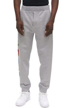 Helmut Lang Men's 3D Logo Sweatpants - Vapor Heather - Size Large