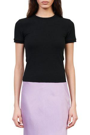 Maje Women's Teen Slim Fit T-Shirt - - Size Large