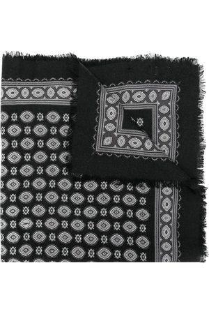 Saint Laurent Women Scarves - Printed cashmere-silk scarf