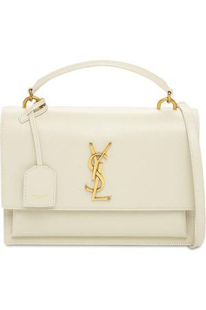 Saint Laurent Women Purses - Medium Sunset Leather Satchel Bag