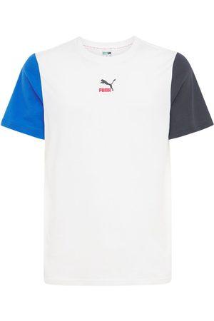 PUMA Men T-shirts - Clsx Cotton Jersey T-shirt