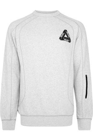PALACE Techie Ferg crew-neck sweatshirt - Grey