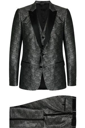 Dolce & Gabbana Men Suits - Metallic-effect dinner suit