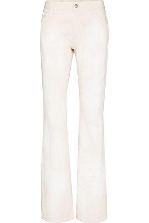 Marni Women Bootcut - Paint-effect bootcut jeans