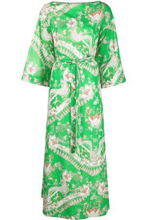 Emilio Pucci Women Beach Dresses - Rugiada long dress