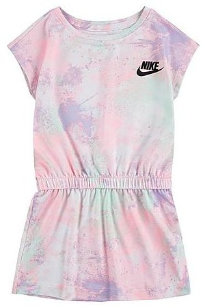 Nike Baby Knitted Dresses - Girls' Toddler Tie-Dye Dress Size 2 Toddler Knit