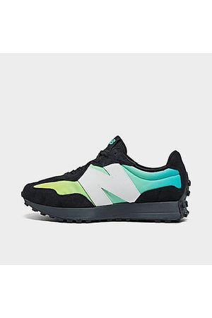 New Balance Men Casual Shoes - Men's 327 Casual Shoes in /Summer Jade Size 8.0 Nylon/Suede