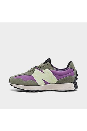 New Balance Men Casual Shoes - Men's 327 Casual Shoes in / /Sour Grape Size 8.0 Nylon/Suede