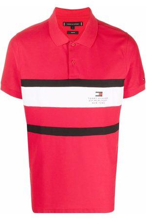 Tommy Hilfiger Men Polo Shirts - Logo striped polo shirt