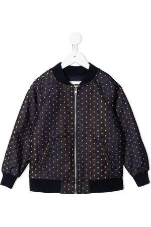 BONTON Girls Bomber Jackets - Star-print bomber jacket