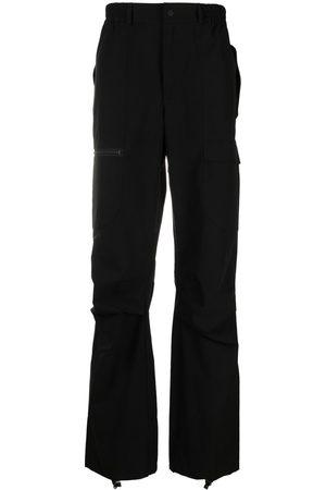 McQ Men Cargo Pants - Logo-patch cargo trousers