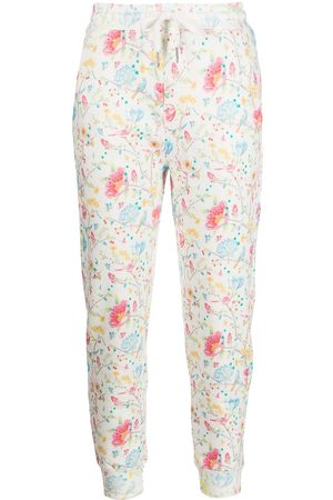 Cynthia Rowley Women Sweatpants - Everly floral-print track trousers
