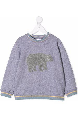 Knot Urso Polar flocked sweatshirt - Grey