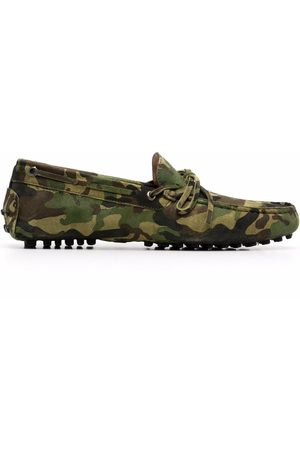 Scarosso Men Loafers - James camouflage-print loafers