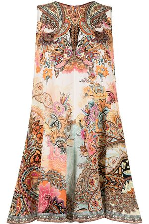 Camilla Women Playsuits - Carnaby Disco sleeveless playsuit - Multicolour