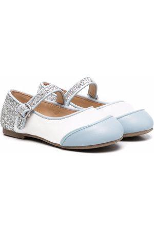 Age of Innocence Girls Ballerinas - Carrie panelled ballerina shoes