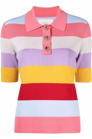 La DoubleJ Women Polo Shirts - Striped polo top