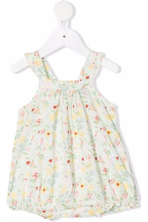 KNOT Baby Rompers - Floral-print romper - X93-Forest Flowers
