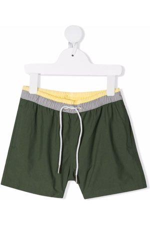 KNOT Contrast trim swim shorts