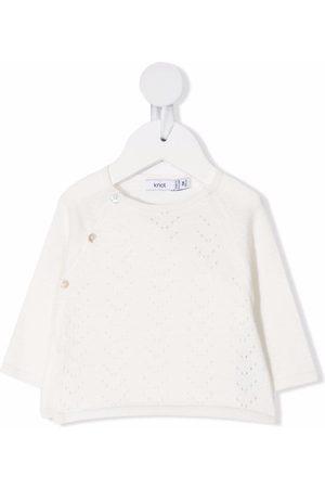 KNOT Hoodies - Pointelle-knit jumper - Neutrals
