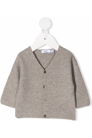 KNOT Cardigans - Earl button front cardigan - Grey