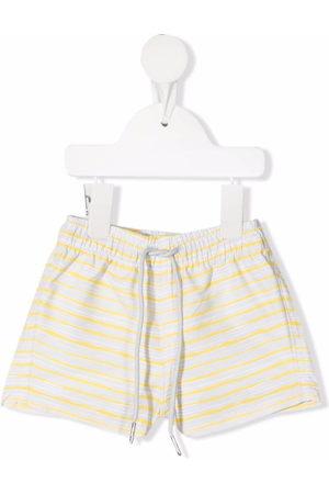 KNOT Baby Swim Shorts - Striped swim shorts - Grey