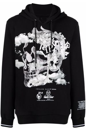 Philipp Plein New Baroque print hoodie