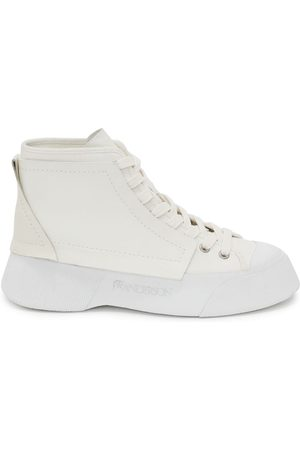 J.W.Anderson Panelled high-top sneakers