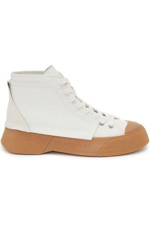J.W.Anderson Men Sneakers - Panelled high-top sneakers