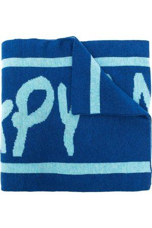 BAPY Oversized logo-print scarf