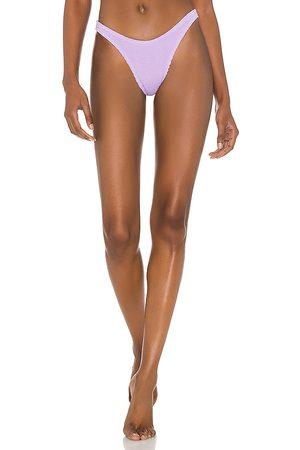 Bond Eye X BOUND Scene Bikini Bottom in Lavender.