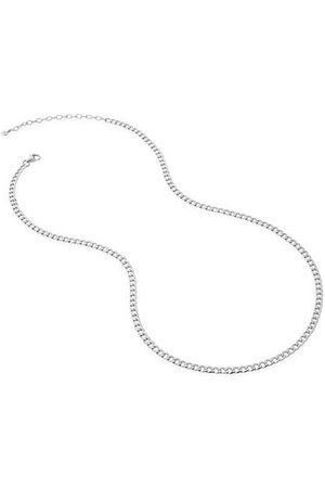 Monica Vinader Necklaces - Sterling Silver Flat Curb Chain Necklace
