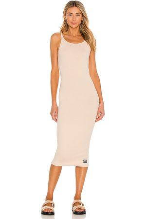 Dr Denim Loreen Dress in Nude.