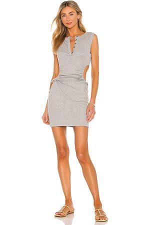 Lovers + Friends Ramona Dress in Grey.