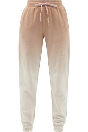 The Upside Alena Ombré Cotton-jersey Track Pants - Womens