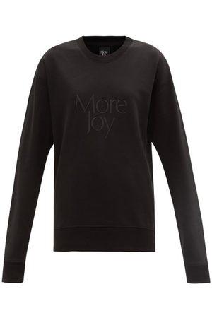 Christopher Kane More Joy-embroidered Cotton-jersey Sweatshirt - Womens
